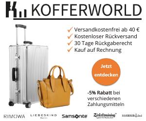 Kofferworld   Cashback