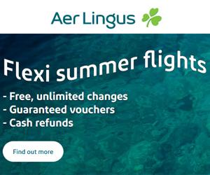 Air Lingus Cashback