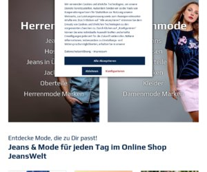 JeansWelt Cashback