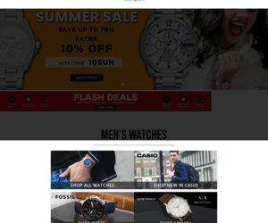 Watches2U Cashback