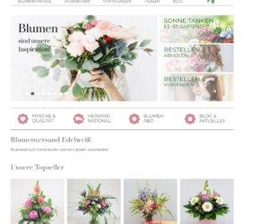 Blumenversand Edelweiss.de Cashback