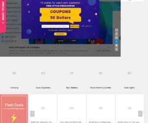 TomTop.com Cashback