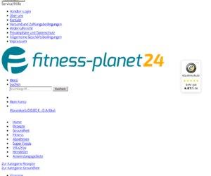 FitnessPlanet24 Cashback