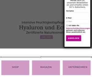 yverum.de | Naturkosmetik Cashback