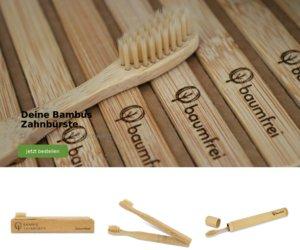 Bambus Zahnbürste Cashback