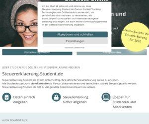 SteuererklaerungStudent.de Cashback