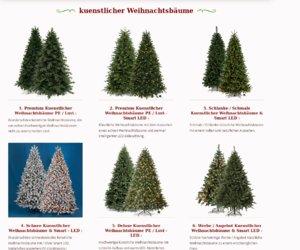 Kuenstlicher Weihnachtsbaum Cashback