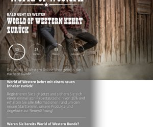 World Of Western Cashback