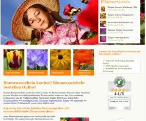 Blumenzwiebeln versand.de Cashback