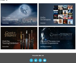 HBO UK, download your favourite HBO series and episodes plus buy DVD and Blu-Ray Box Sets at the official HBO in the UK.