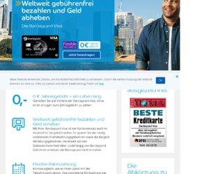 Barclaycard Kredit Cashback