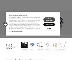 Pandora Onlineshop Cashback