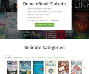 Skoobe  EBooks ausleihen statt kaufen Cashback