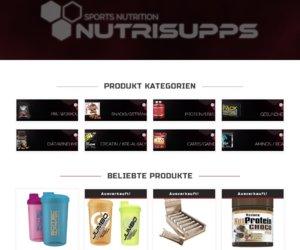 nutrisupps.de Cashback