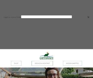 Gartenfrosch.com Cashback