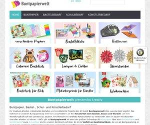Buntpapierwelt.de Cashback