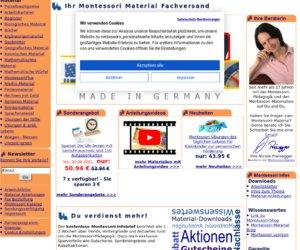Montessori-shop.de Cashback