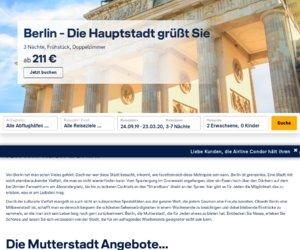 Lufthansa Holidays Cashback
