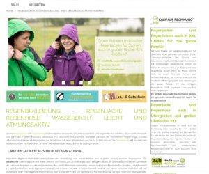 Regenbekleidung.com Cashback
