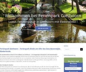 Vakantieparkgiethoorn.nl/de Cashback