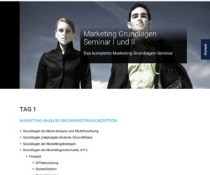 Münchner Marketing Akademie Cashback