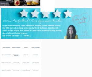 Asiafoodland - Ihr Asia Shop im Internet Cashback