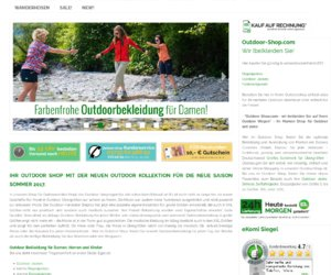 OutdoorShop Cashback