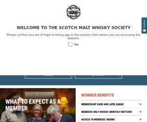 The Scotch Malt Whisky Society Cashback