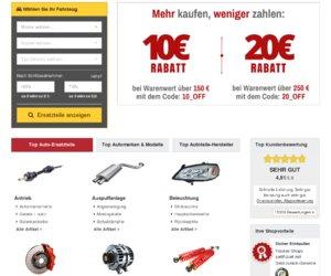 teilesuche24.de  Günstige Autoteile Cashback
