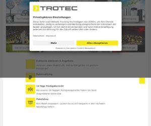 Trotec  At Work & At Home Cashback