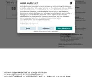 Sunnycars.de Cashback