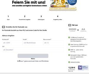die Deutsche Postcode Lotterie Cashback