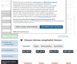 Pneus Online Cashback