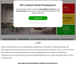 indoortrend.com Cashback