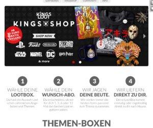 KingsLoot Shop Cashback
