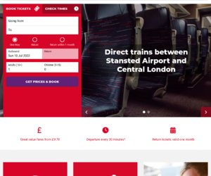 Stansted Express Cashback